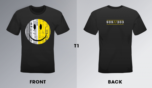 909//303 T-Shirt Design 01 Double Sided