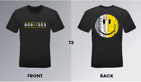 909//303 T-Shirt Design 02 Double Sided