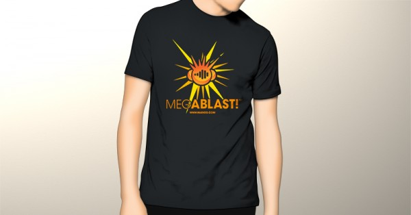Mens Mark EG's Megablast! T-Shirt