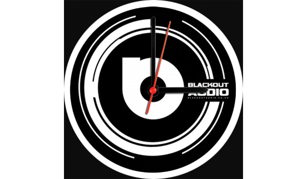 Blackout Audio Clock