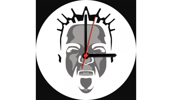 Mark EG Face Clock
