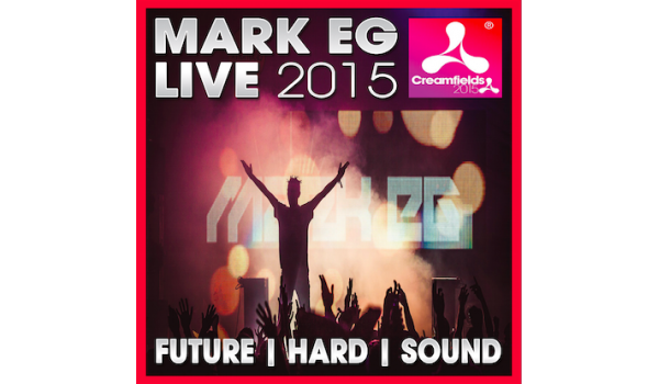 Mark EG Live at Creamfields 2015 CD (Signed)