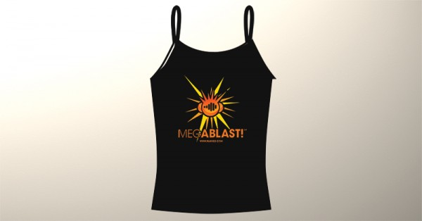 Ladies Mark EG's Megablast! T-Shirt