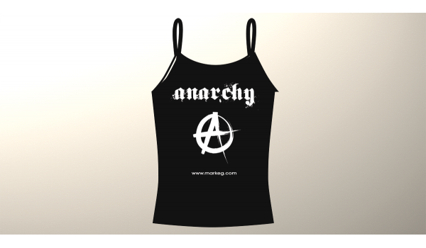 Ladies Mark EG Anarchy T-Shirt [Anarchy Range]